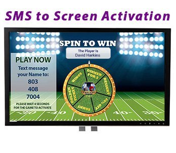 SMS to Screen Technology