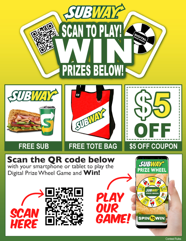 scan to win